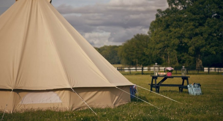 Camping sites in england